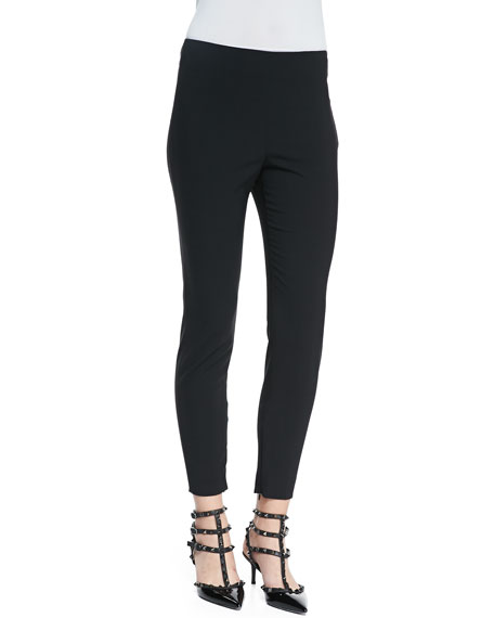 Cady Tech Ankle Zip Leggings, Black