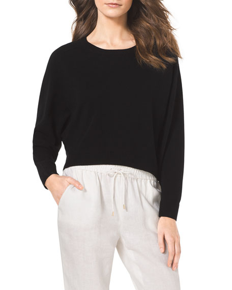 Cropped Cashmere Sweater