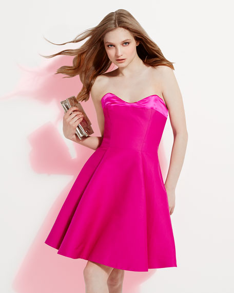 Strapless Flare Dress