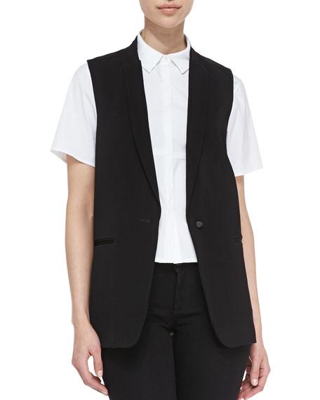 Poitier Oversize Suit Vest