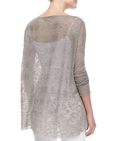 Javi Sheer Burnout Sweater