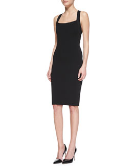 Michael Kors Double Crisscross-Back Dress