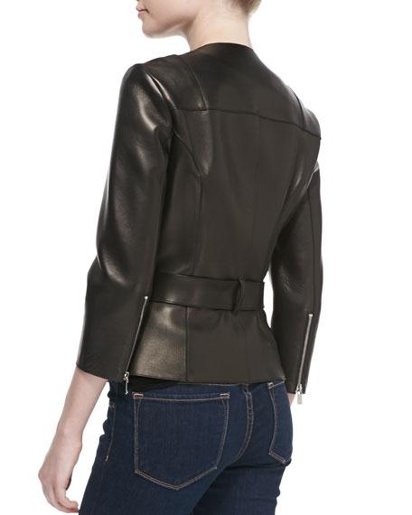 Plonge Zip Moto Jacket