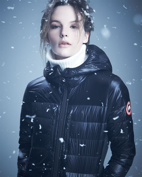 Canada Goose Camp Hooded Jacket White Women