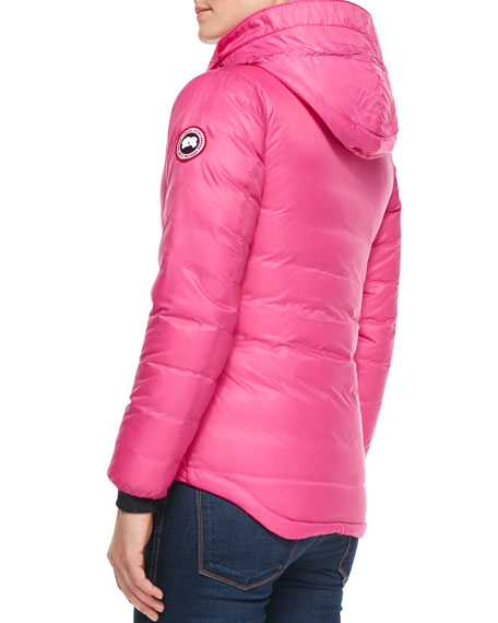 Camp Hooded Puffer Coat, Pink
