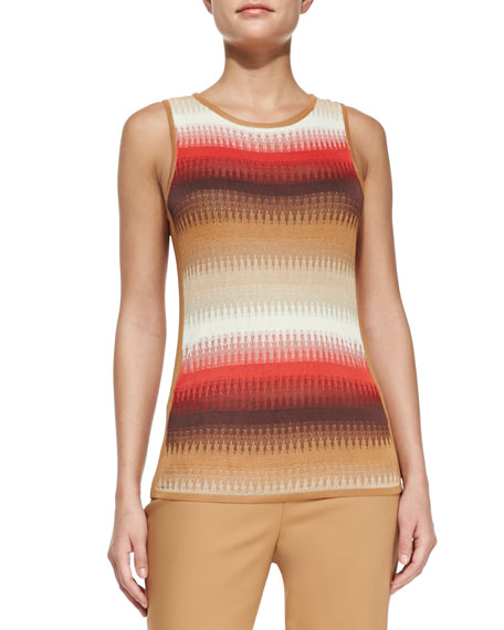 Ombre-Patterned Tank