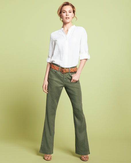 Wylie Linen-Cotton Trousers