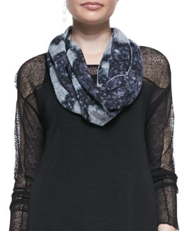 Eileen Fisher Painted Cosmos Scarf