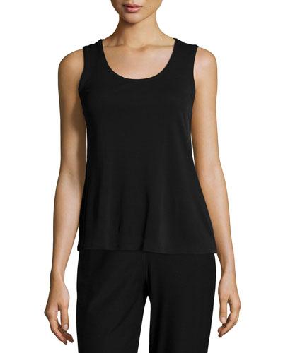 Eileen Fisher Stretch Silk Jersey Tank, Women's