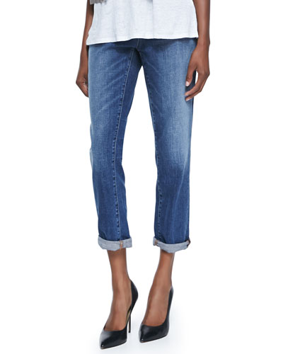 Stretch Boyfriend Jeans, Women