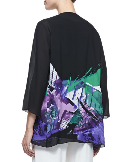 Expressions Draped Jacket, Women's