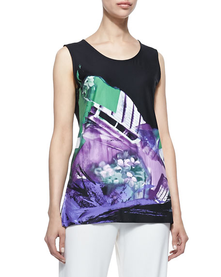 Expressions Jersey Tank, Petite