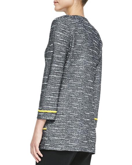 Tipped Tweed Jacket, Women's