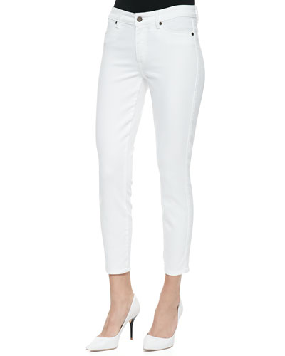 CJ by Cookie Johnson Believe Cropped Jeans, White