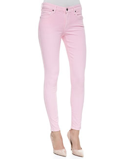 CJ by Cookie Johnson Wisdom Skinny Ankle Jeans, Pink