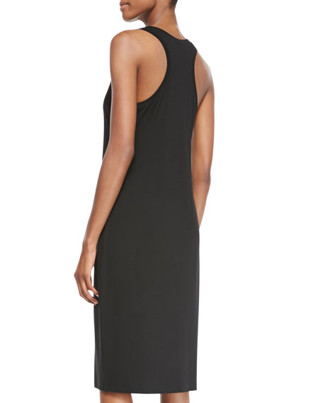 Fisher Project Sleeveless Racerback Midi Dress