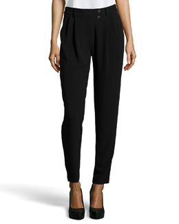 Alexander Wang Tapered-Leg Ponte Pants