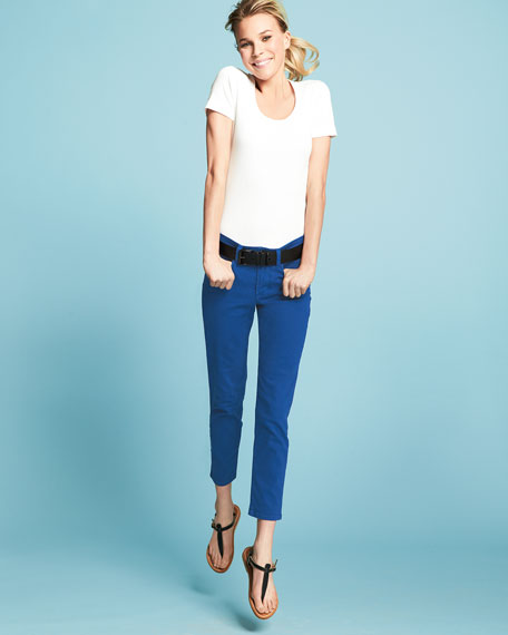 Clarissa Cropped Skinny Jeans
