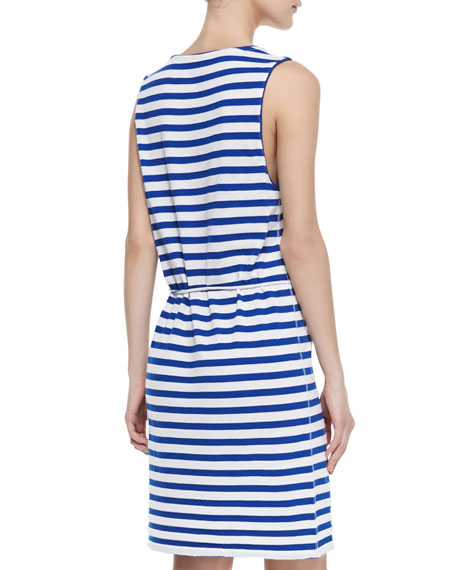 Paseo Striped Cotton Knit Dress