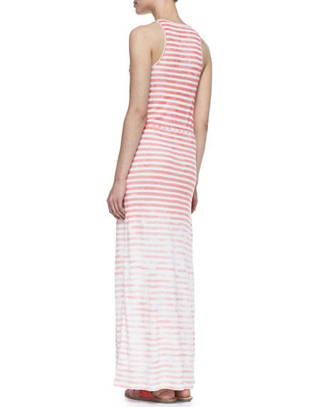 Emilia Sleeveless Stripe Maxi Dress