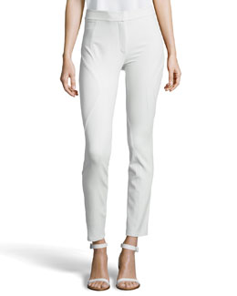 Alexander Wang High-Waist Fitted Pant, Chlorine