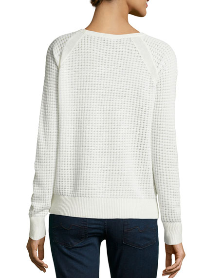 Raglan Thermal Top, Winter White