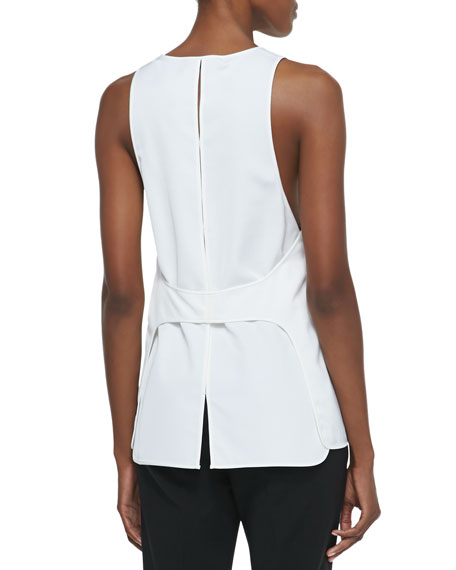 Apron-Back Cutout Tank, Malt