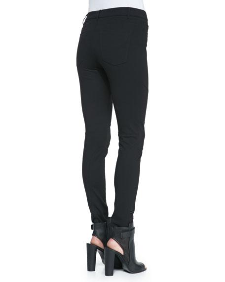Moto Leggings, Black