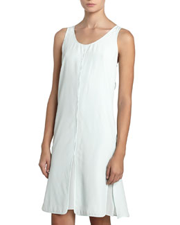 Alexander Wang Split Panel Tank Dress, Chlorine