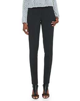Alexander Wang Skinny Boy Pants, Black