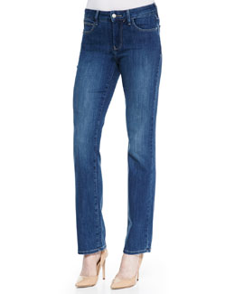 NYDJ Marilyn Pittsburgh Straight-Leg Jeans
