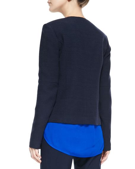 Snap-Front Four-Pocket Jacket