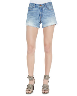 J Brand Jeans Carly Reflection Denim Shorts