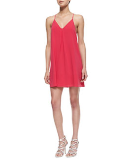 Alice + Olivia Fierra Tank Dress, Fuchsia