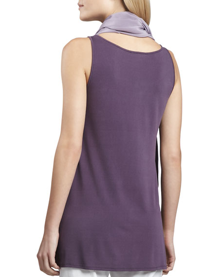 Sleeveless Jersey Tunic, Women's