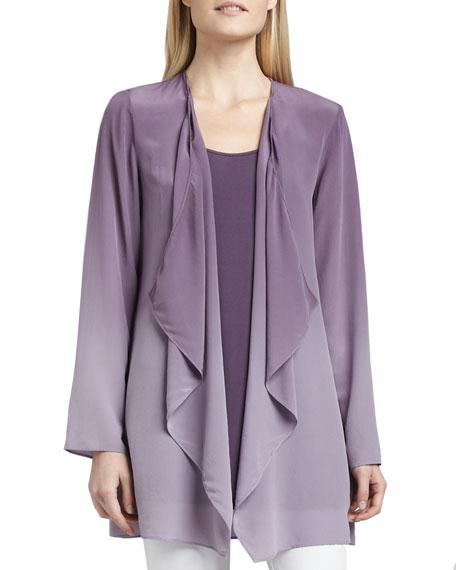 Ombre Silk Jacket, Women's