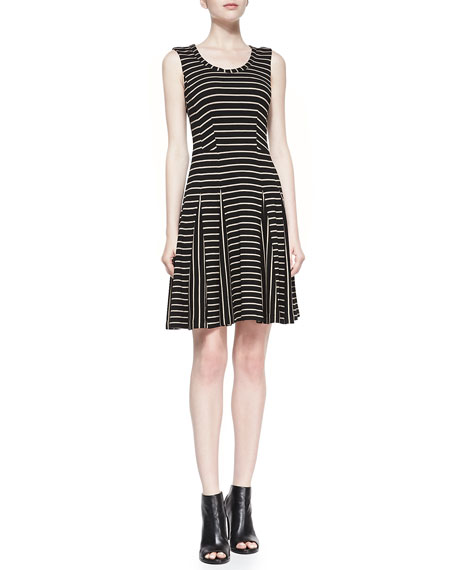 Fair Game Scoop-Neck Dress
