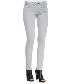 Victoria Beckham Denim Powerskinny Denim Jeans, Gray