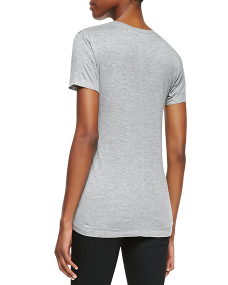 Short-Sleeve Crewneck Tee