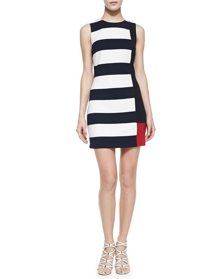 Underdog Colorblock Sleeveless Dress