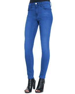 Current/Elliott The High-Waist Skinny Jeans, National