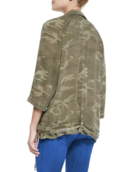 The Infantry Camo-Print Jacket