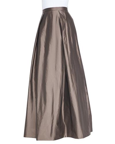 Aidan Mattox Ball Skirt with Pockets
