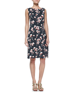 Tory Burch Liana Floral-Print Dress