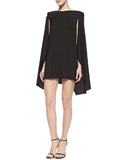 Cameo This Love Cape-Overlay Dress