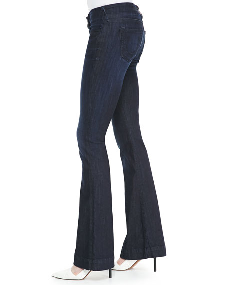 Charlize Flare True Blue Jeans