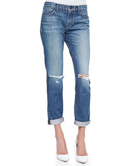 Destruction Jake Bohemia Boyfriend Jeans