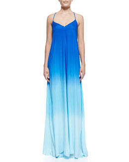 Young Fabulous and Broke Fortune Ombre Racerback Maxi Dress
