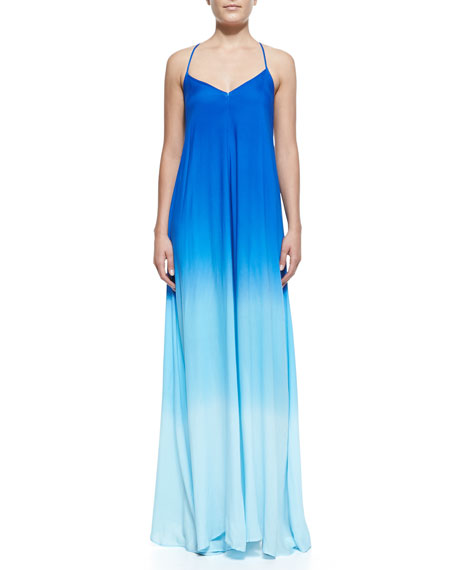 Fortune Ombre Racerback Maxi Dress