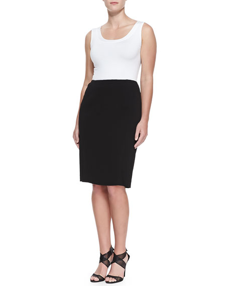 Super-Stretch Pencil Skirt, Women's